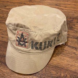EXCELLENT A. Kurtz Military Cap, khaki